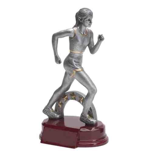 Silver Prestige Female Track Trophy