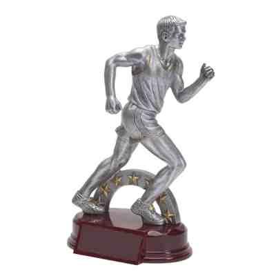 Silver Prestige Male Track Trophy