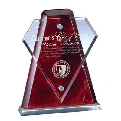 Hometown Hero Glass Award
