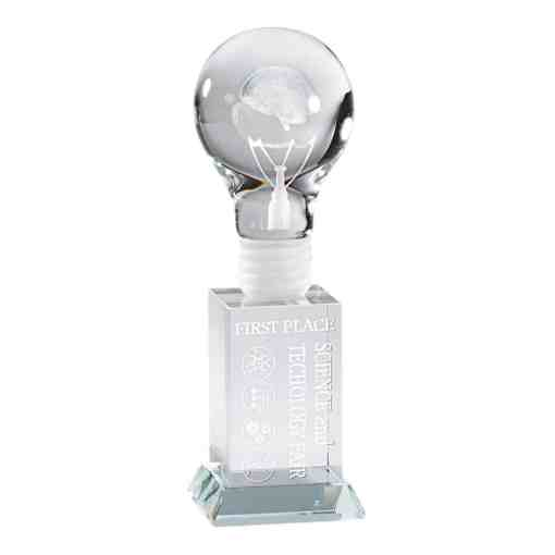 Bright Idea Crystal Award CRY467