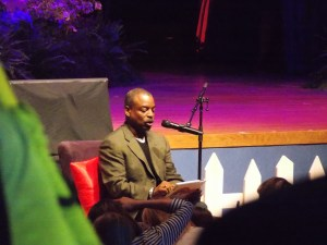 Levar Burton reading  aloud--a beautiful thing.