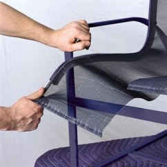 Redo Sling Patio Chairs Best Home Furnishings Chair Outdoor Furniture Repair