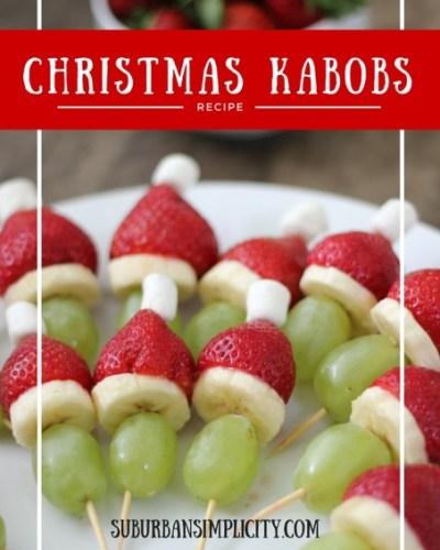 Christmas Kabobs Recipe