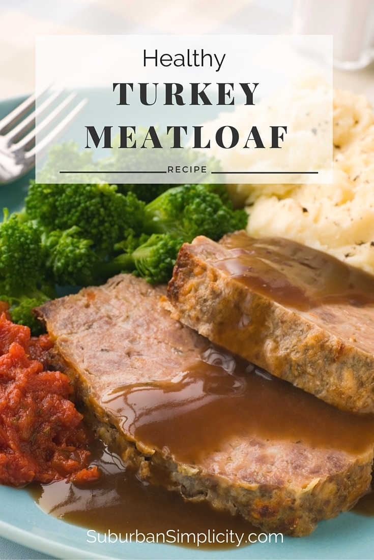 Healthy Turkey Meatloaf {GF}
