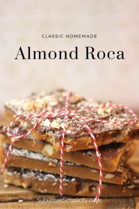 Homemade Almond Roca #candy