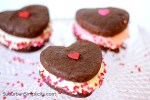 Whoopie Pies decorated for Valentines Day