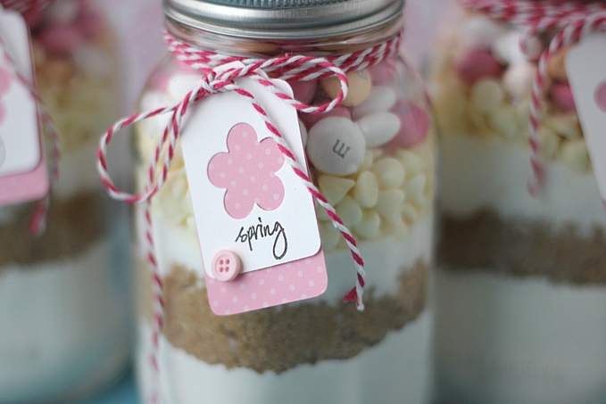 Easter Cookies in a Jar