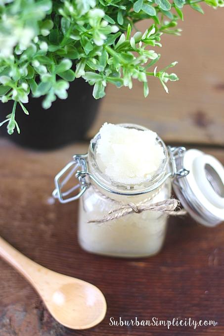 Lavender Vanilla Sugar Scrub Recipe