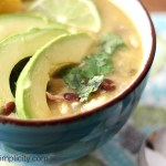 Chicken Enchilada Verde Soup