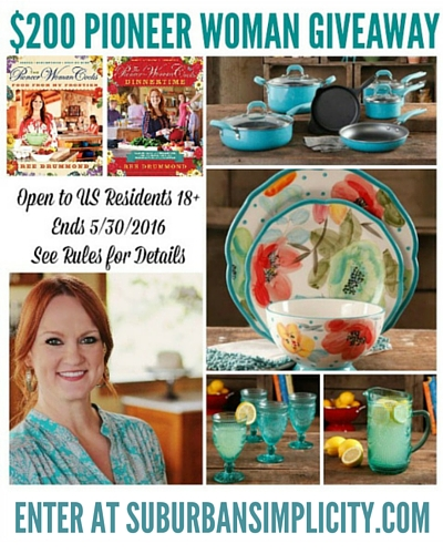 Spring Pioneer Woman Giveaway! Enter Now!
