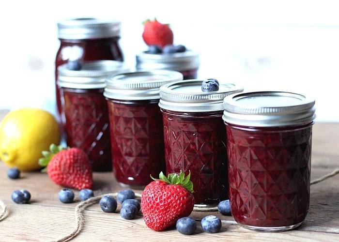 Homemade Mixed Berry Jam  Suburban Simplicity
