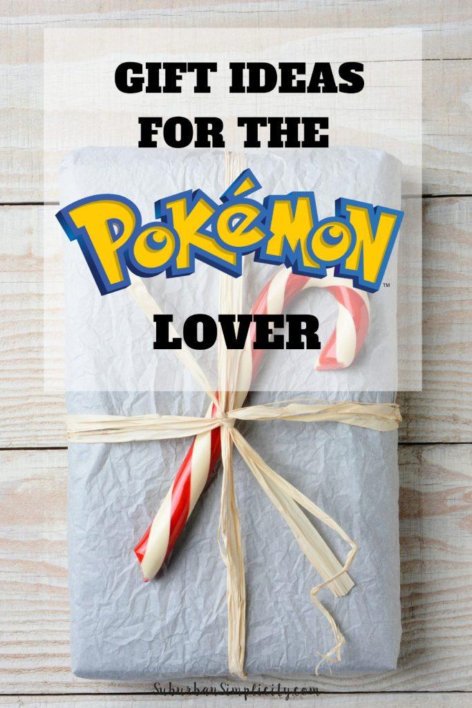 Gift Idea for the Pokemon Lover