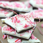 This Peppermint Bark is one of the quickest and most delicious holiday candy ideas! Chocolate and peppermint are the perfect treat combination.   Christmas Candy   Homemade gift Idea