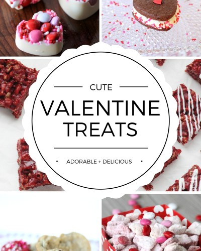 Cute Valentine's Day Treat Ideas