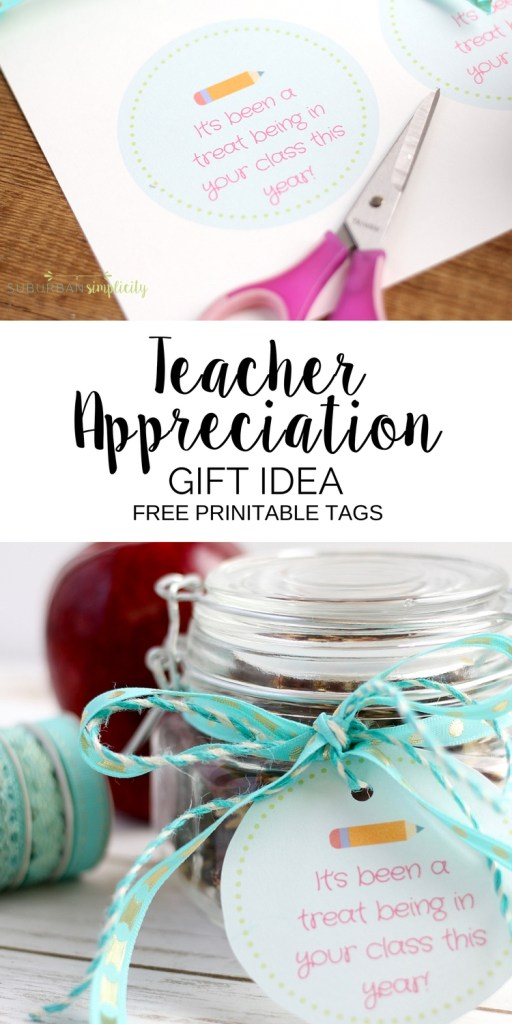 Appreciate teachers with this Saltine Toffee Teacher Gift Idea! It's easy to make, but leaves a delicious impression. FREE printable gift tags!