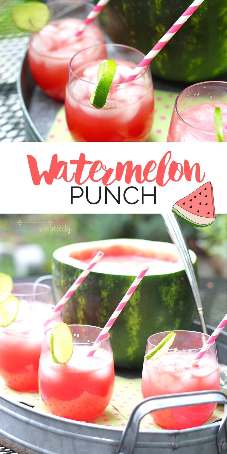 recipe: watermelon alcoholic punch bowl [21]