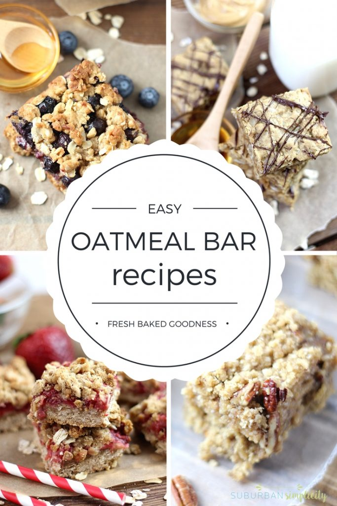 These Easy Oatmeal Bars are kid-tested and can totally be substituted for packaged snack bars. Delicious and nutritious!!
