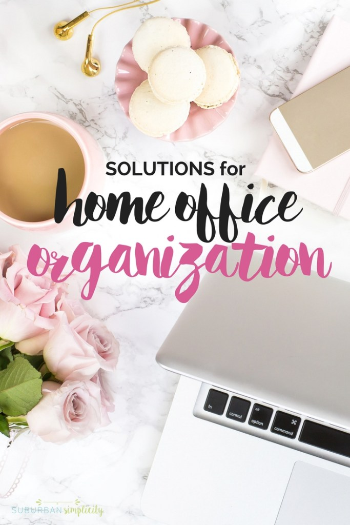 Finding Solutions for Home Office Organization can be a challenge. These organizing ideas will help crush your clutter and make it easy to store and find important documents and files.