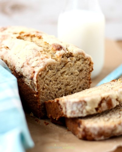 This is the best banana bread recipe I've found.  Moist and delicious every time!  And it's infused with just the right amount of banana flavor. Homemade banana bread really is the best!