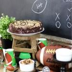 Football Party Dessert Bar That Scores!