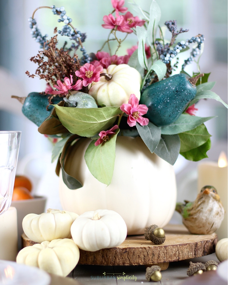 Easy Thanksgiving Table Decorations | DIY Thanksgiving Table Decor