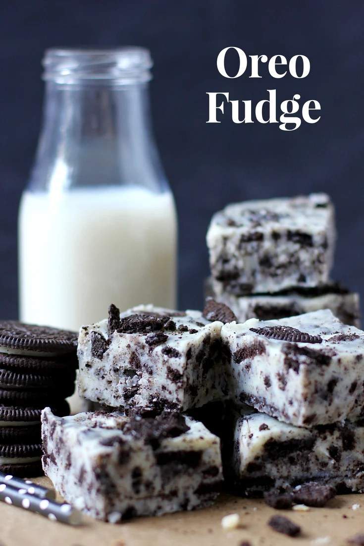 This amazing and easy Oreo Fudge is so creamy and dreamy, you'll absolutely love it! It's a simple Oreo cookie dessert no one can resist!