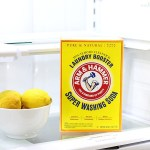 Come learn the secrets for how to clean your refrigerator in 15 minutes! This much used appliance needs a good cleaning and these tips will help you make it happen in no time! #ad #cleaningtips#SuperWashingSoda