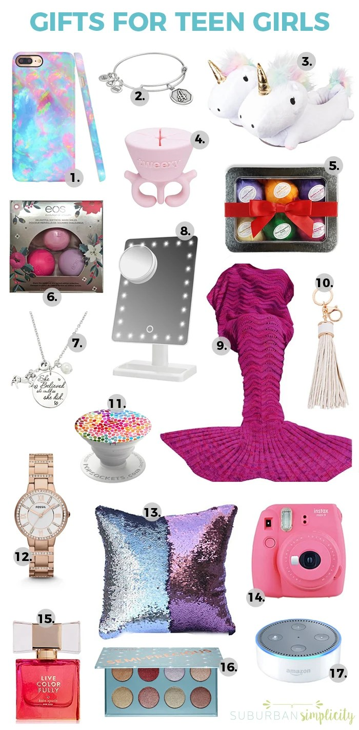looking for cool gift ideas for teen girls this gift guide has you covered