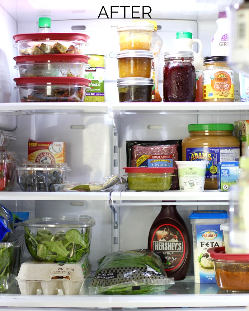 Messy Refrigerator: How To Clean Your Refrigerator In 15 Minutes