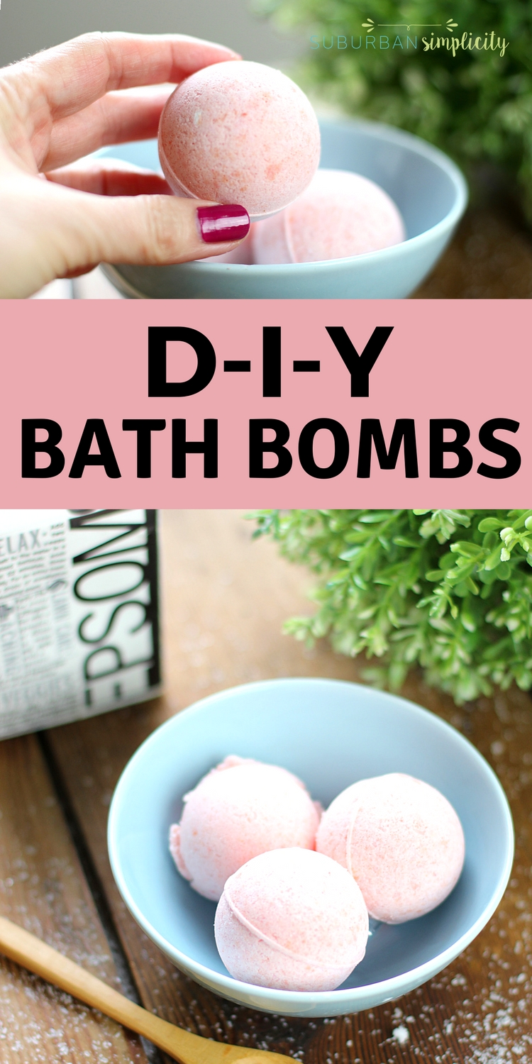 Here's an easy tutorial for how to make a Bath Bomb Recipe (with video). With a few simple ingredients, you can relax in a warm bath with an awesome fizzy DIY creation. Makes a great gift idea! #bathbombs #diybeauty