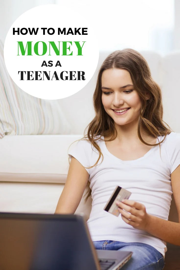Are you a teen interested in earning some money of your own? Check out How to Make Money as a Teenager and see what's the best fit! #teens #teenager #teenjobs