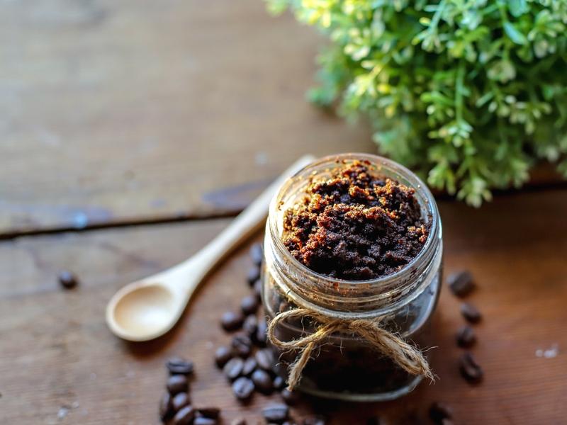 Pampering Coffee sugar scrub