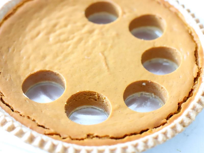 Pumpkin Pie to make Pumpkin Pie Turkeys