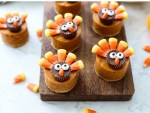 Pumpkin Pie Turkeys for Thanksgiving.