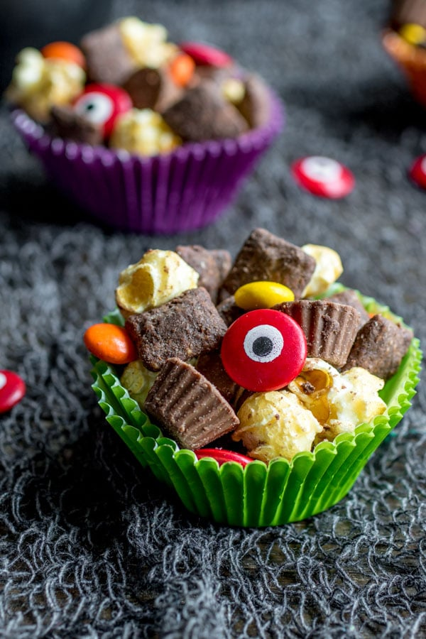 Easy Halloween treats - Werewolf Chow