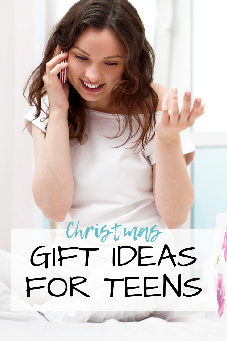 Teens can be notoriously hard to shop for, but we've got several Christmas Gift Ideas for Teenagers that are sure to please nearly any teen on your list this year!!