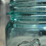 Mason jar for canning