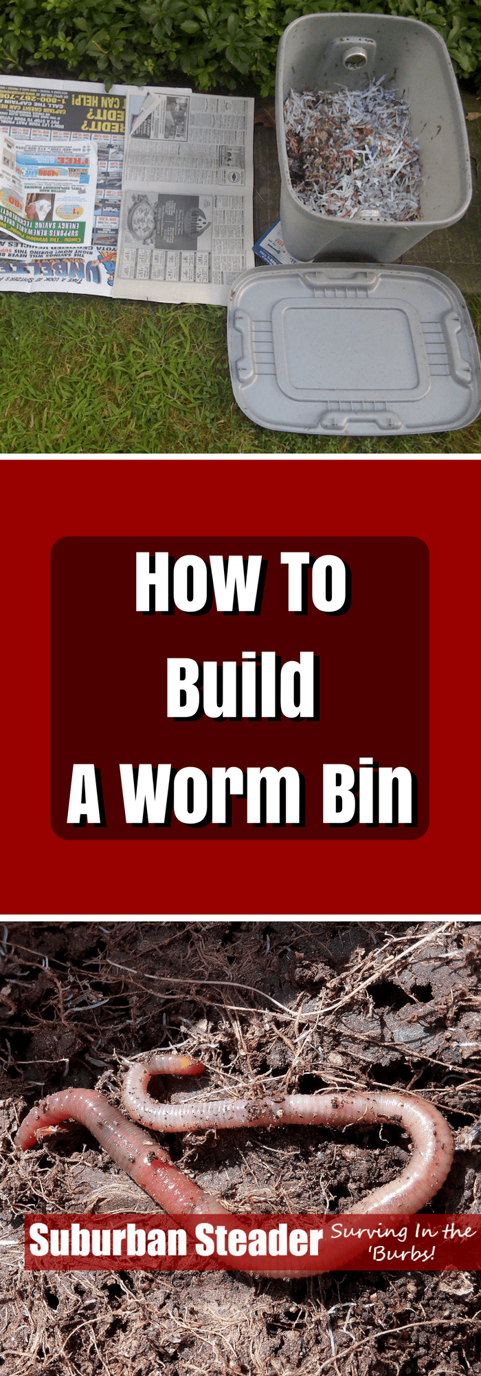 Make And Take Room In A Box Elizabeth Farm: How To Build A Worm Bin
