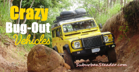 Crazy Bug-Out Vehicles