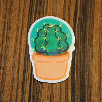 Barrel Cactus Sticker