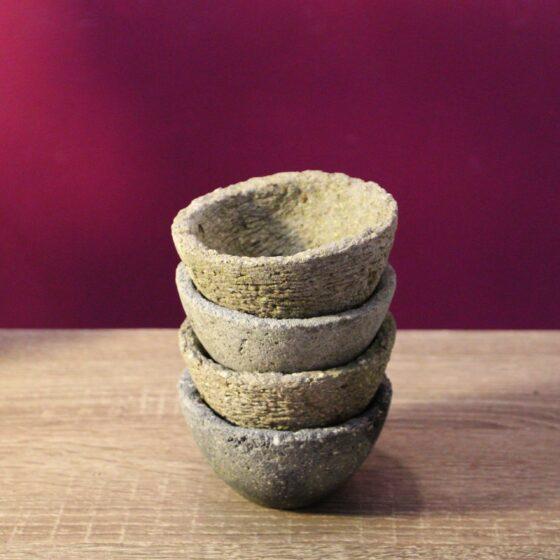 hypertufa pots mini dish