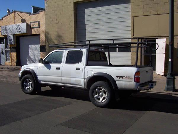 ColminnX Truck Ladder Rack, Toyota Tacoma