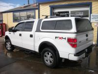 f-150-overland-white-rack-truck-cap-ft.-collins-colorado ...