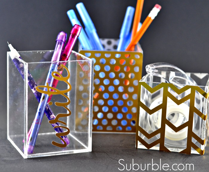 Upcycled Office Organization - Suburble.com