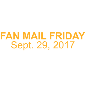 Thumbnail for Episode 187: Fan Mail Friday: Sept. 29, 2017