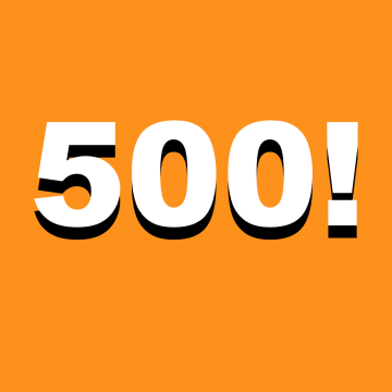 Thumbnail for Episode 500: Episode 500!! – Ask Us Anything