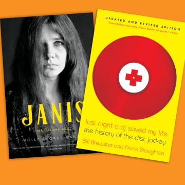 Thumbnail for Episode 805: Book Nook – Janis Joplin, DJs