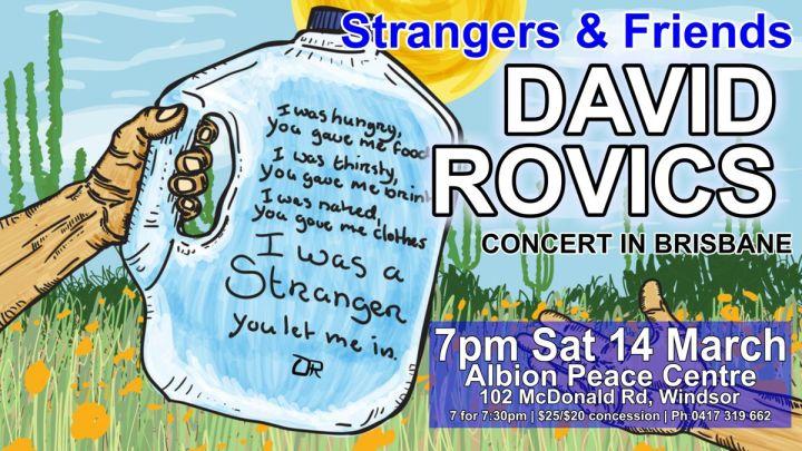 David Rovics Brisbane March 14