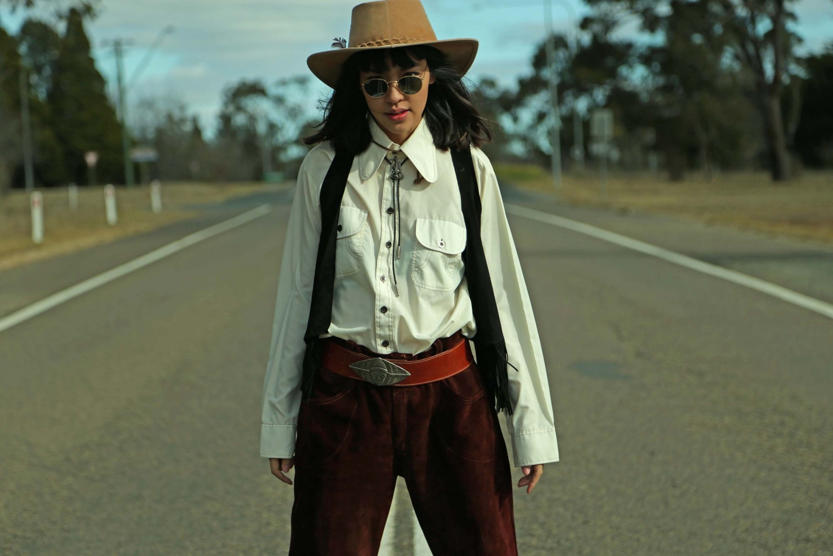 Hitchhiker's Guide to the Outback Shot by Sara Nicolette