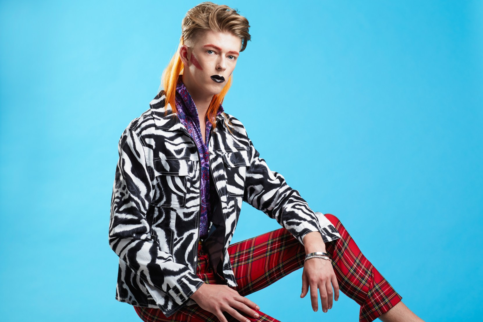 Bowie Punk shot by Lucy Alcorn